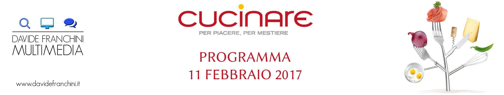 cucinare pordenone 2017 programma sabato 11 febbraio