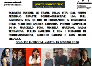 Pordenonescrive 2020