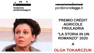 mio Friuladria 2020: complimenti ad Olga Tokarczuk